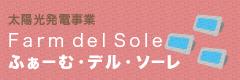 太陽光発電事業 ふぁーむ・デル・ソーレ Farm del sole
